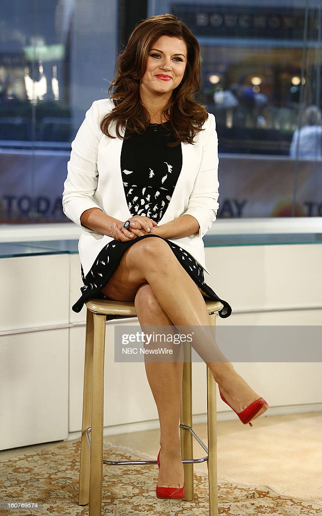 Tiffani Thiessen appears on NBC News' 'Today' show --