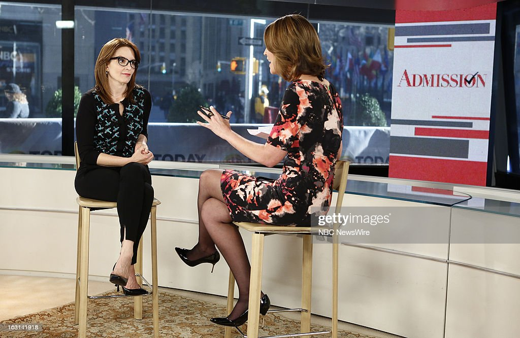 Tina Fey and Savannah Guthrie appear on NBC News' 'Today' show --