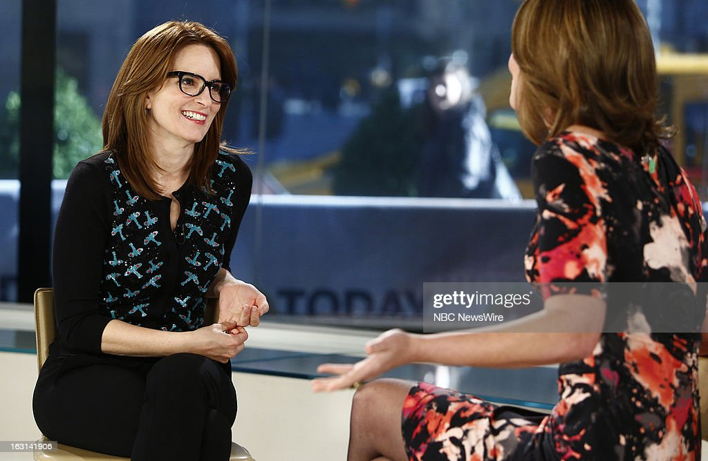 Tina Fey appears on NBC News' 'Today' show --