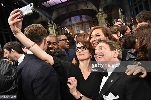 Tina Fey Maya Rudolph Martin Short on February 15 2015
