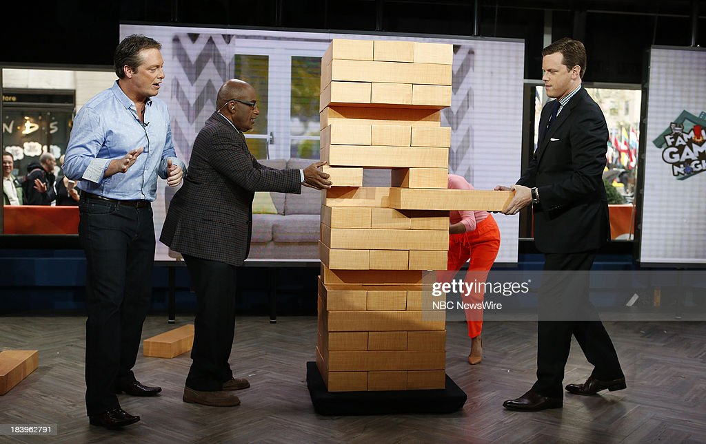 Todd Newton, <a gi-track='captionPersonalityLinkClicked' href=/galleries/search?phrase=Al+Roker&family=editorial&specificpeople=206153 ng-click='$event.stopPropagation()'>Al Roker</a> and Willie Geist appear on NBC News' 'Today' show --