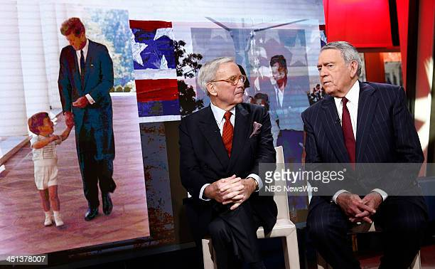 Tom Brokaw and Dan Rather appear on NBC News' 'Today' show