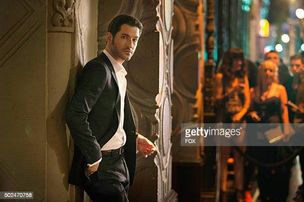 Pictured Tom Ellis as Lucifer