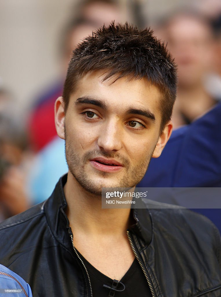 Tom Parker of 'The Wanted' appears on NBC News' 'Today' show --