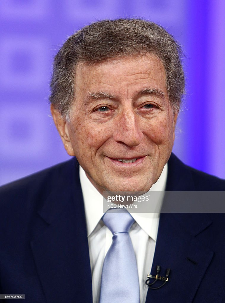 <a gi-track='captionPersonalityLinkClicked' href=/galleries/search?phrase=Tony+Bennett&family=editorial&specificpeople=160951 ng-click='$event.stopPropagation()'>Tony Bennett</a> appears on NBC News' 'Today' show --