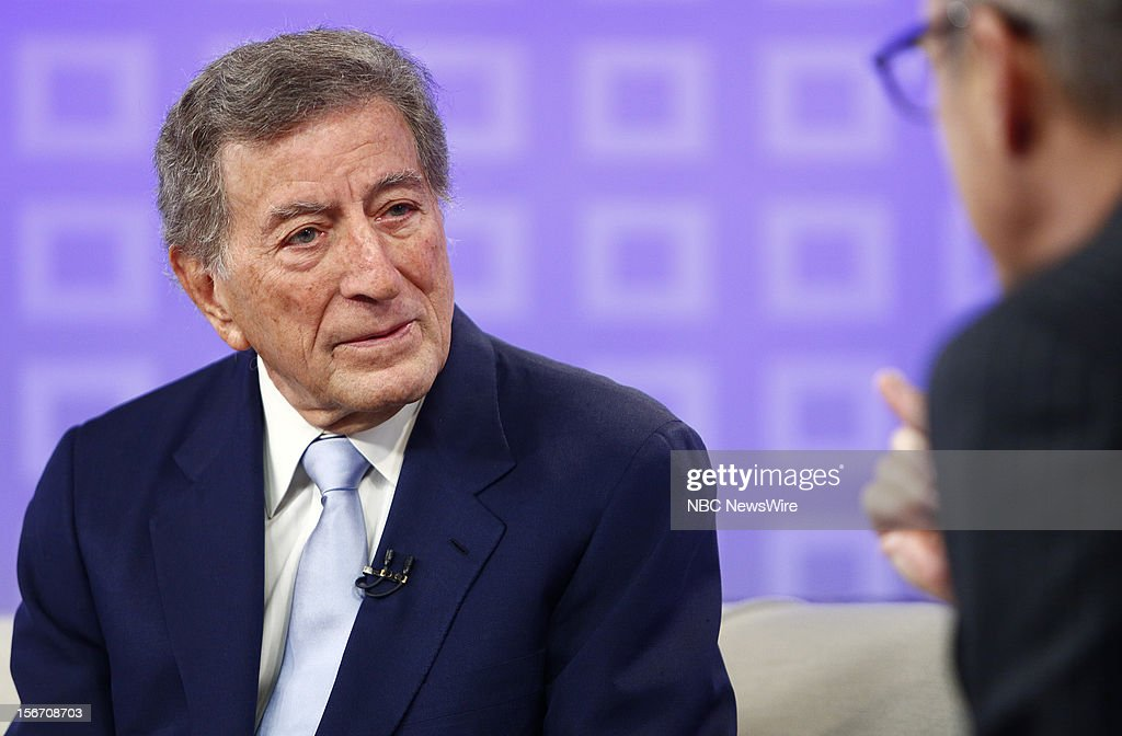 Tony Bennett appears on NBC News' 'Today' show --