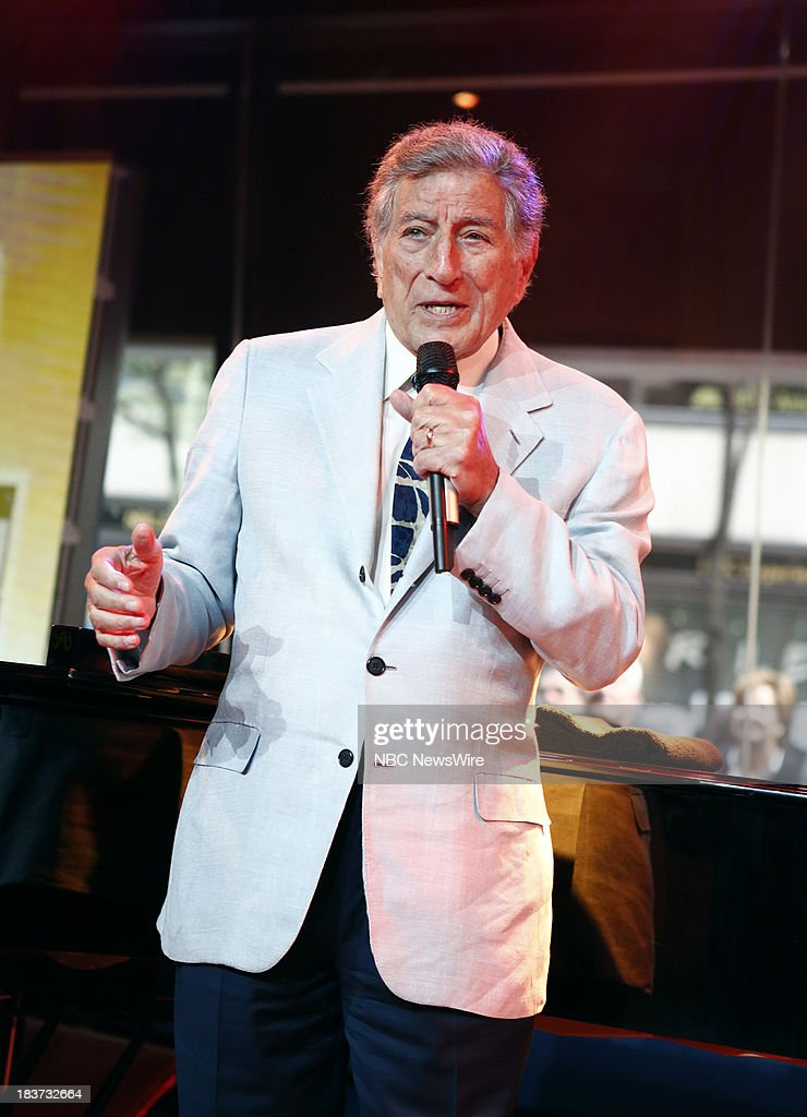 <a gi-track='captionPersonalityLinkClicked' href=/galleries/search?phrase=Tony+Bennett+-+Singer&family=editorial&specificpeople=160951 ng-click='$event.stopPropagation()'>Tony Bennett</a> appears on NBC News' 'Today' show --