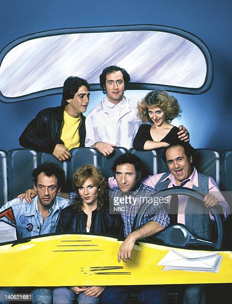Tony Danza as Tony Banta Andy Kaufman as Latka Gravas Carol Kane as Simka DahblitzGravas Danny DeVito as Louie De Palma Judd Hirsch as Alex Reiger...