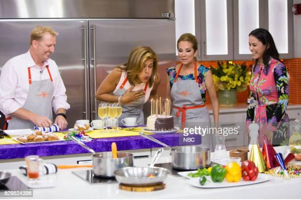Tory McPhail Hoda Kotb Kathie Lee Gifford and Donna Farizan on Wednesday Aug 9 2017