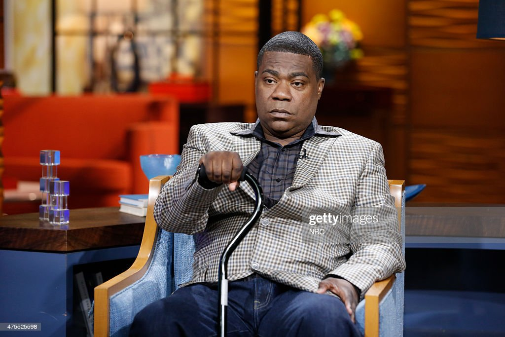 Tracy Morgan appears on NBC News' 'Today' show on Monday June 1 2015