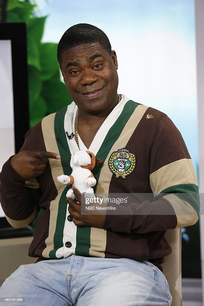 Tracy Morgan appears on NBC News' 'Today' show --
