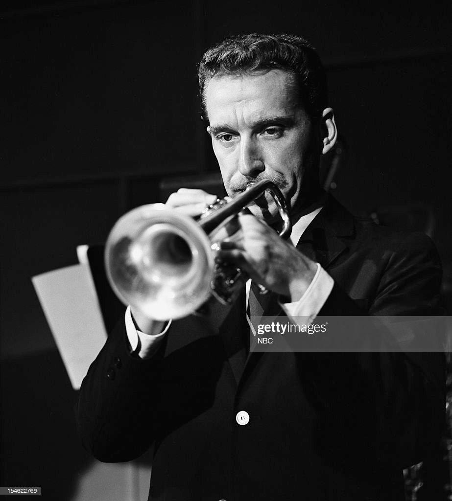 Trumpet player Doc Severinsen on August 12, 1964 --