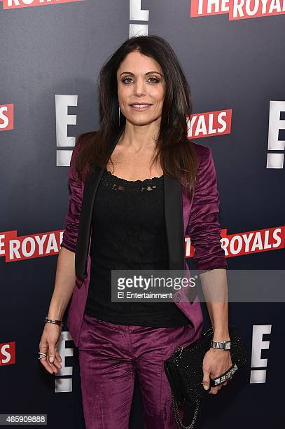 TV personality Bethenny Frankel at The Royals premier party at The Top of The Standard on March 9 2015