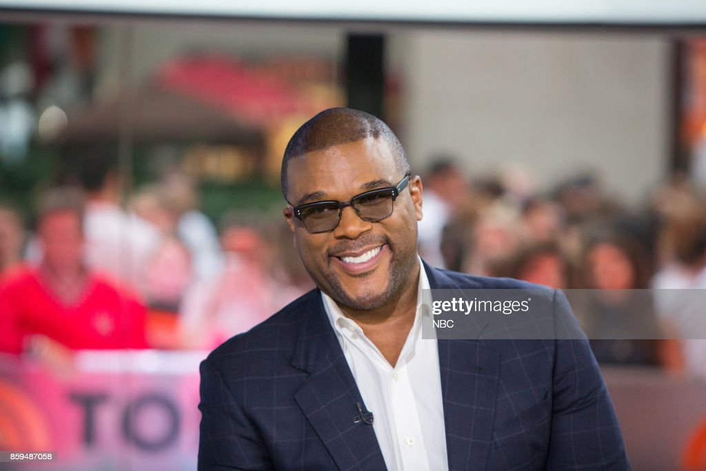 Tyler Perry on Monday, October 9, 2017 --
