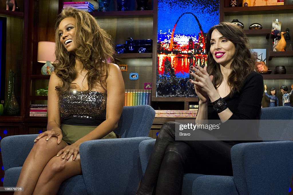 Tyra Banks, Whitney Cummings -- Photo by: Charles Sykes/Bravo/NBCU Photo Bank via Getty Images