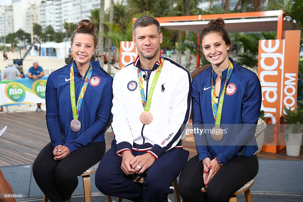 "NBC's ""Today"" With U.S. Olympians"