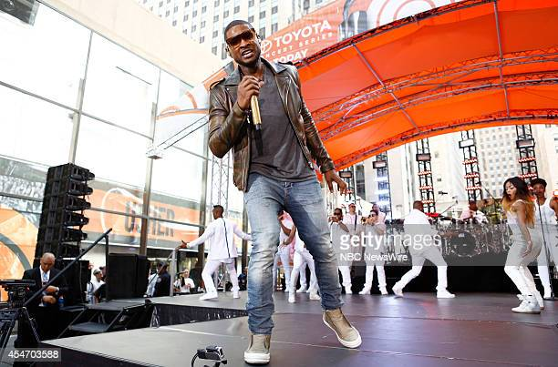 Usher appears on NBC News' 'Today' show