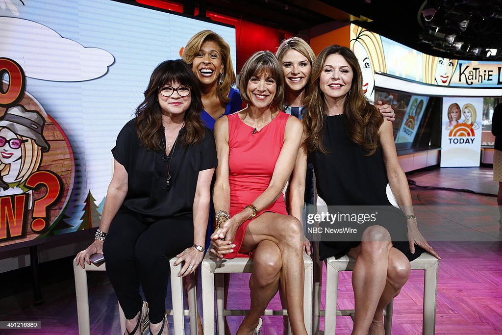 "NBC's ""Today"" With Guests Adam Levine, Peter Alexander, Padma Lakshmi, Valerie Bertinelli, Wendy Malick and Jane Leeves"