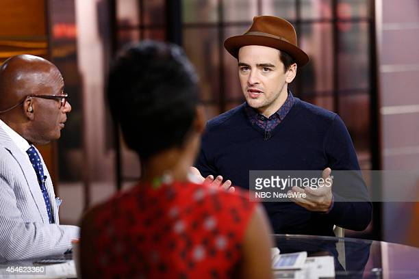 Vincent Piazza appears on NBC News' 'Today' show
