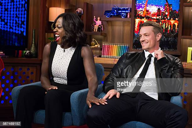 Viola Davis and Joel Kinnaman