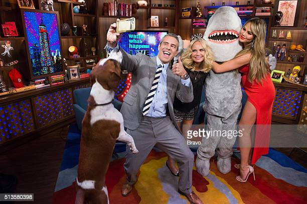 Wacha Andy Cohen Kristin Chenoweth Gay Shark and Chrissy Teigen