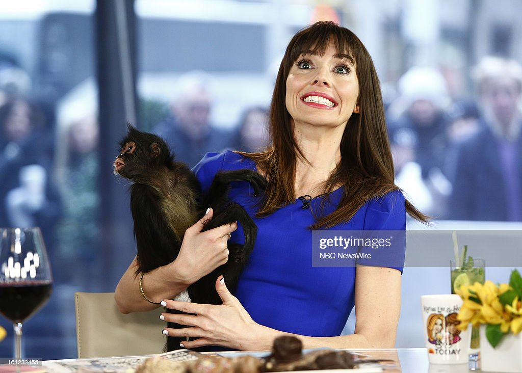 <a gi-track='captionPersonalityLinkClicked' href=/galleries/search?phrase=Whitney+Cummings&family=editorial&specificpeople=240395 ng-click='$event.stopPropagation()'>Whitney Cummings</a> appears on NBC News' 'Today' show with Bella the spider monkey on March 21, 2013 --