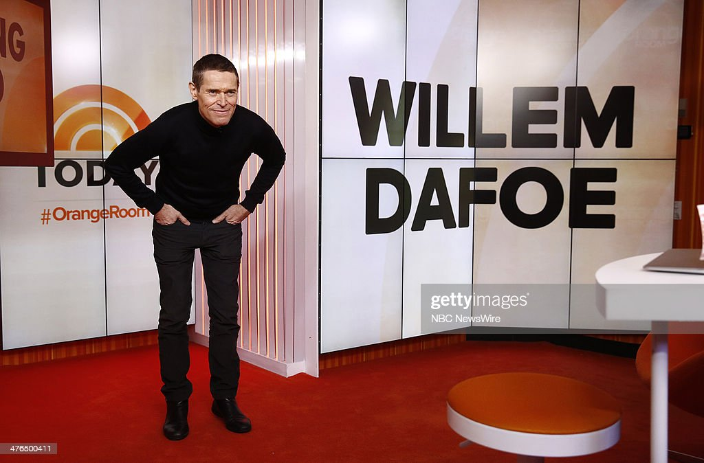Willem Dafoe appears on NBC News' 'Today' show --
