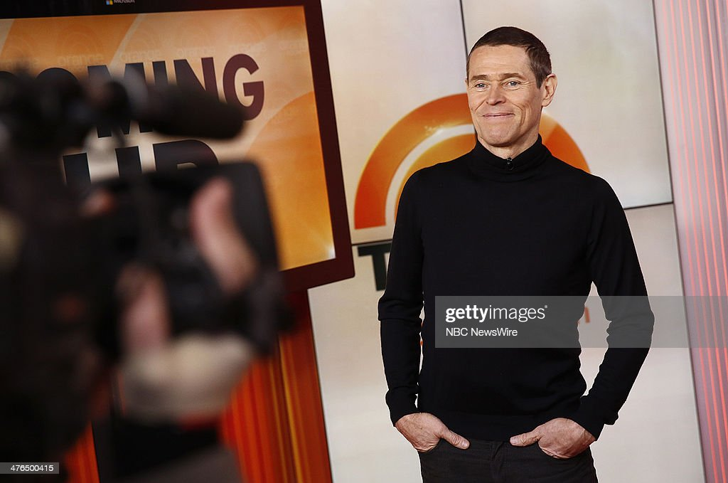 <a gi-track='captionPersonalityLinkClicked' href=/galleries/search?phrase=Willem+Dafoe&family=editorial&specificpeople=203171 ng-click='$event.stopPropagation()'>Willem Dafoe</a> appears on NBC News' 'Today' show --