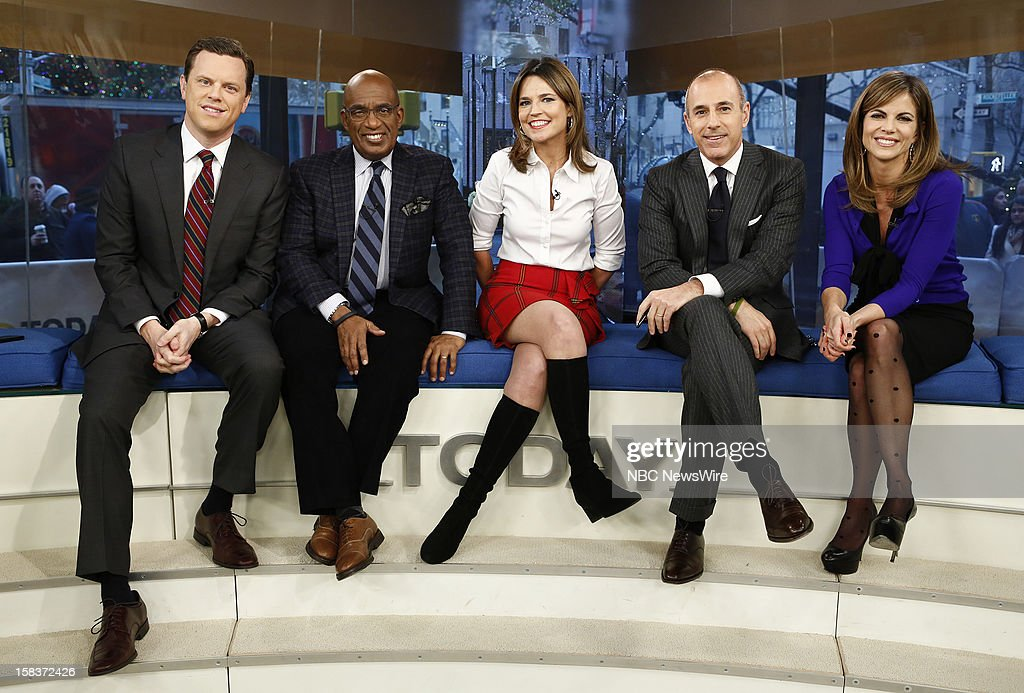 Willie Geist, <a gi-track='captionPersonalityLinkClicked' href=/galleries/search?phrase=Al+Roker&family=editorial&specificpeople=206153 ng-click='$event.stopPropagation()'>Al Roker</a>, <a gi-track='captionPersonalityLinkClicked' href=/galleries/search?phrase=Savannah+Guthrie&family=editorial&specificpeople=653313 ng-click='$event.stopPropagation()'>Savannah Guthrie</a>, <a gi-track='captionPersonalityLinkClicked' href=/galleries/search?phrase=Matt+Lauer&family=editorial&specificpeople=206146 ng-click='$event.stopPropagation()'>Matt Lauer</a> and <a gi-track='captionPersonalityLinkClicked' href=/galleries/search?phrase=Natalie+Morales+-+News+Anchor&family=editorial&specificpeople=710956 ng-click='$event.stopPropagation()'>Natalie Morales</a> appear on NBC News' 'Today' show --
