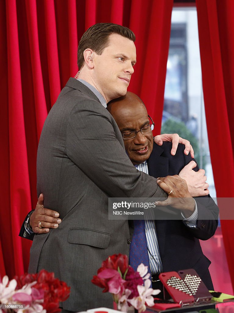 Willie Geist and <a gi-track='captionPersonalityLinkClicked' href=/galleries/search?phrase=Al+Roker&family=editorial&specificpeople=206153 ng-click='$event.stopPropagation()'>Al Roker</a> appear on NBC News' 'Today' show --