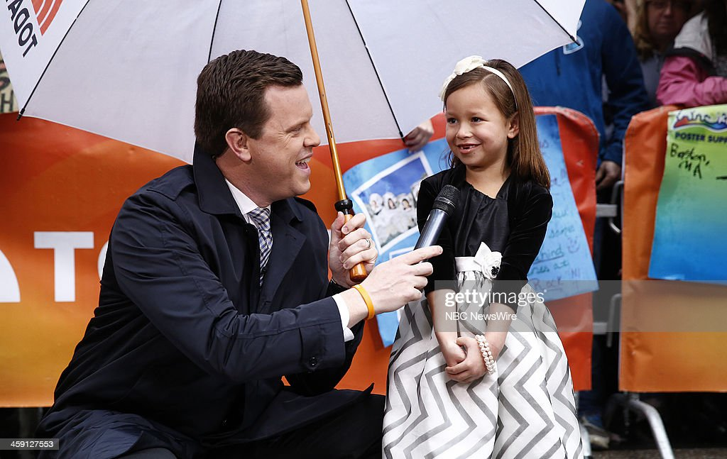 Willie Geist and Emma Lock appear on NBC News' 'Today' show --