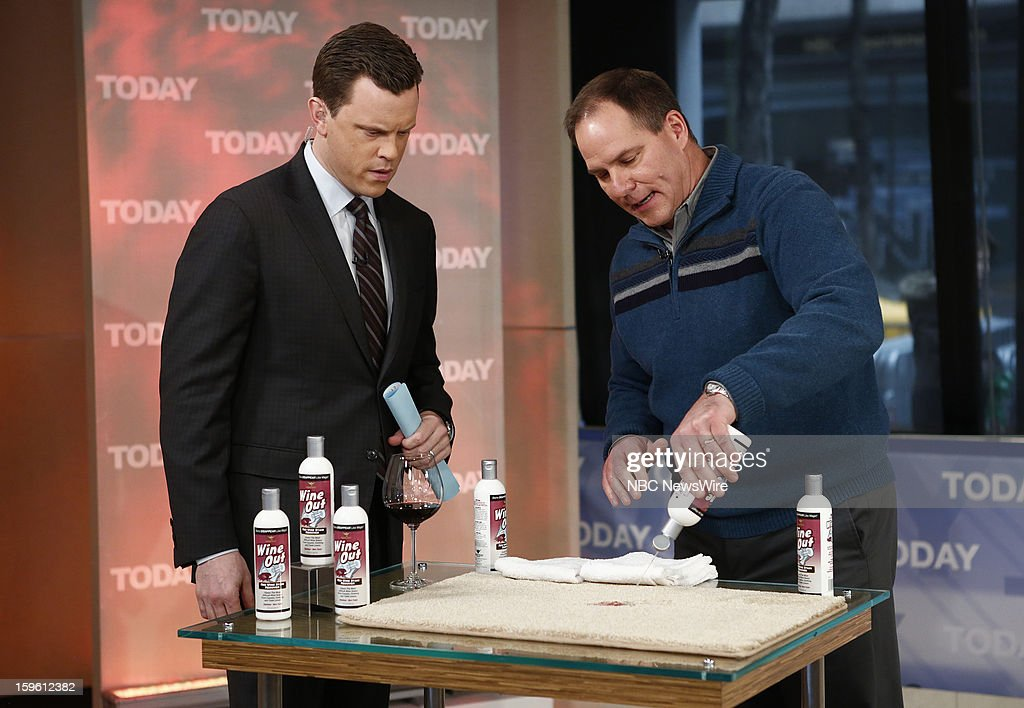 Willie Geist and Lou Manfredini appear on NBC News' 'Today' show --
