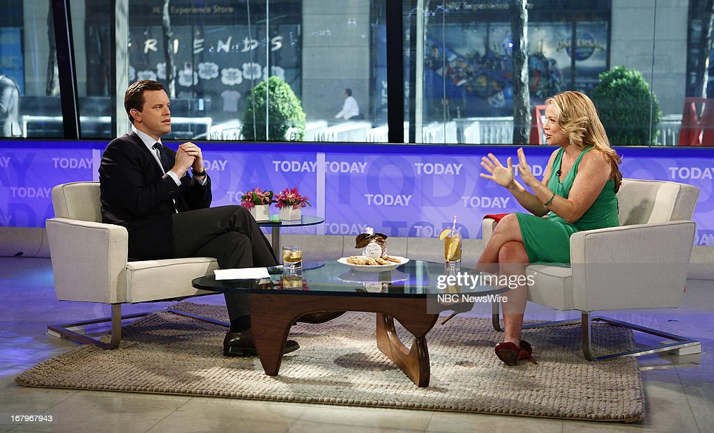 Willie Geist and Megan Colarossi appear on NBC News' 'Today' show --