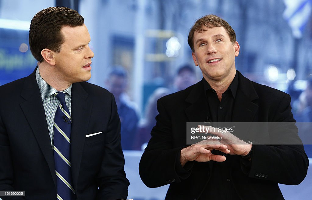 Willie Geist and Nicholas Sparks appear on NBC News' 'Today' show --