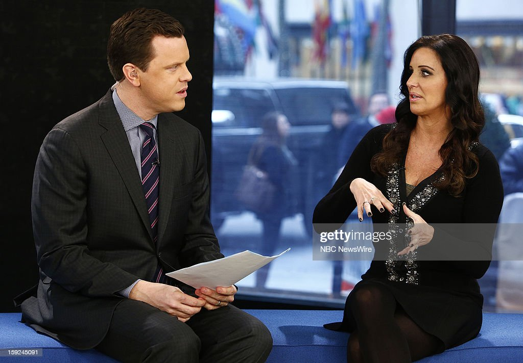 Willie Geist and Patti Stanger appear on NBC News' 'Today' show --