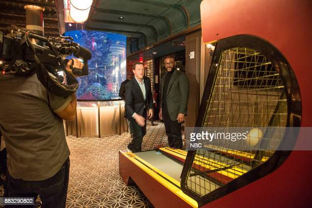 Willie Geist and Tyler Perry on November 16 2017