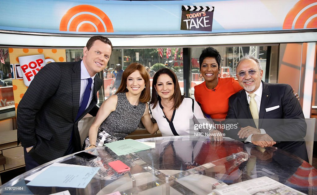 "NBC's ""Today"" With Guests Ellie Kemper, Flo Rida, Robin Thicke, J.K. Simmons, Gloria Estefan"