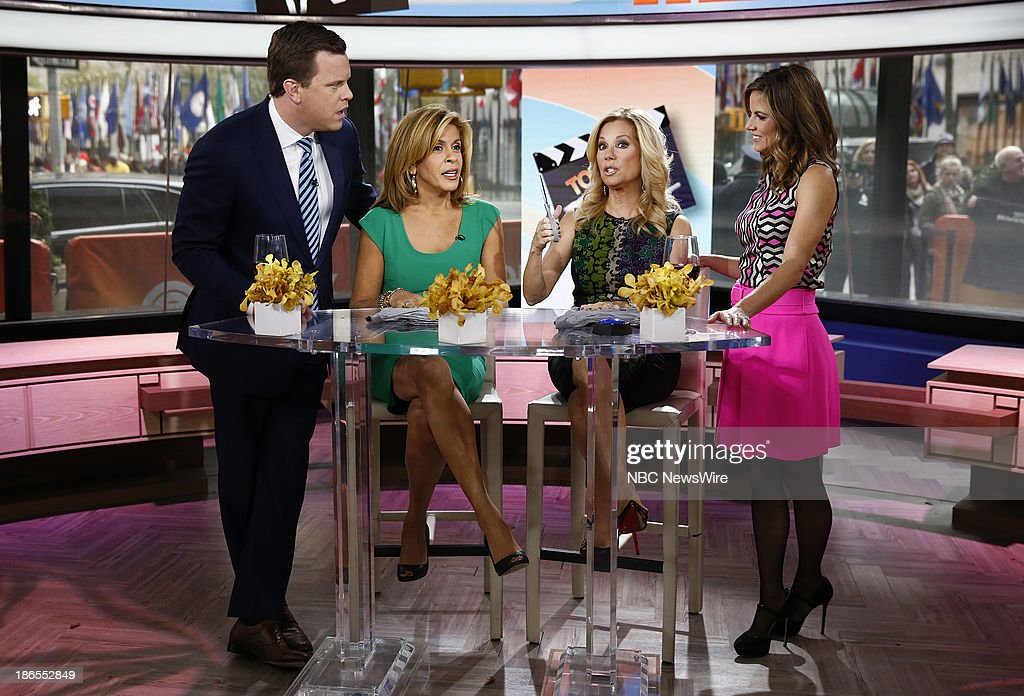 Willie Geist, <a gi-track='captionPersonalityLinkClicked' href=/galleries/search?phrase=Hoda+Kotb&family=editorial&specificpeople=2338013 ng-click='$event.stopPropagation()'>Hoda Kotb</a>, <a gi-track='captionPersonalityLinkClicked' href=/galleries/search?phrase=Kathie+Lee+Gifford&family=editorial&specificpeople=203269 ng-click='$event.stopPropagation()'>Kathie Lee Gifford</a> and <a gi-track='captionPersonalityLinkClicked' href=/galleries/search?phrase=Natalie+Morales+-+News+Anchor&family=editorial&specificpeople=710956 ng-click='$event.stopPropagation()'>Natalie Morales</a> appear on NBC News' 'Today' show --