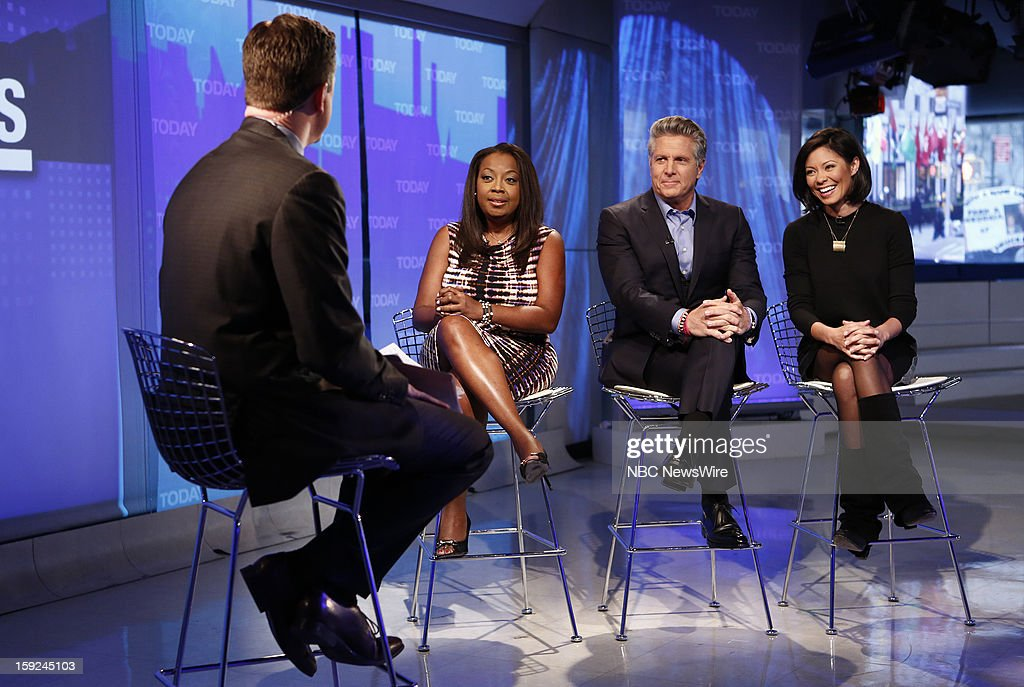 Willie Geist, Star Jones, Donnie Deutsch and Alex Wagner appear on NBC News' 'Today' show --