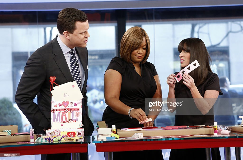 Willie Geist, Sunny Anderson and Soleil Moon Frye appear on NBC News' 'Today' show --
