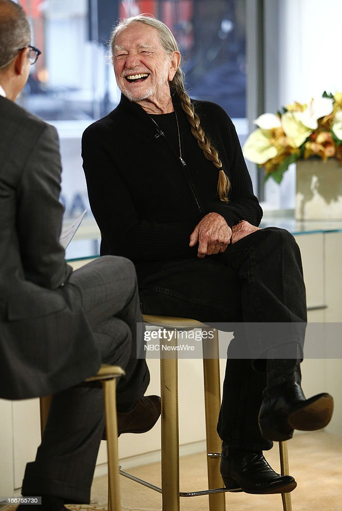 Willie Nelson appears on NBC News' 'Today' show --