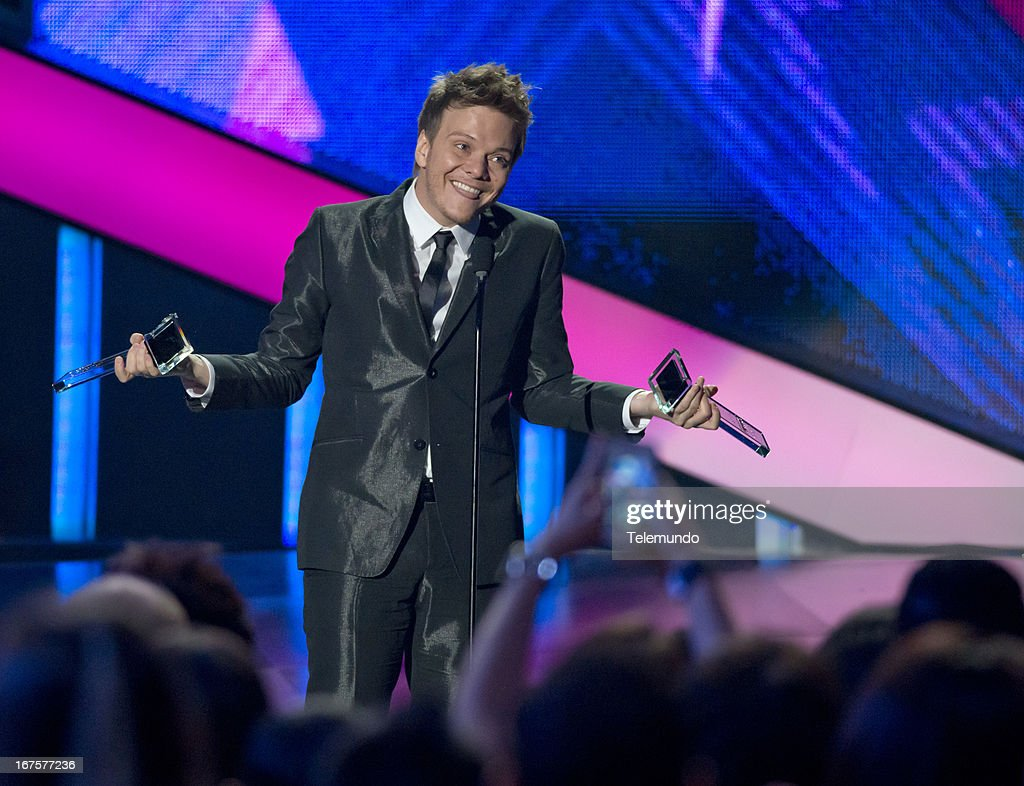Winner Michel Telo at the 2013 Billboard Latin Music Awards held at the BankUnited Center, University of Miami in Miami, Florida on April 25, 2013 --