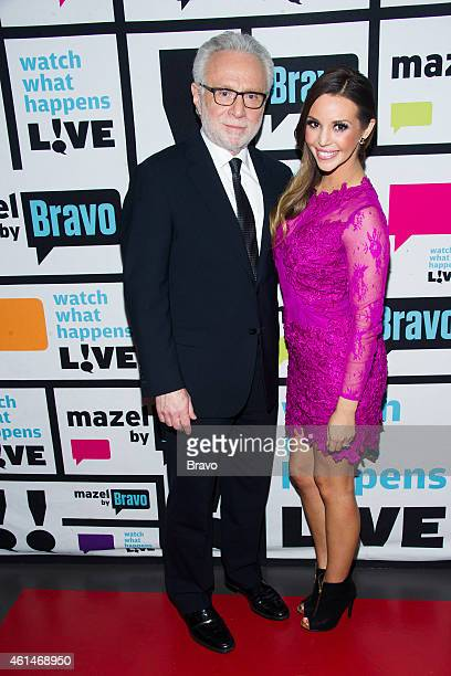 Wolf Blitzer and Scheana Marie