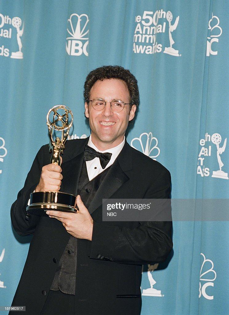 Writer Kario Salem winner of Outstanding Writing for a Miniseries or a Movie for 'Don King: Only in America ' during the 50th Annual Primetime Emmy Awards held at the Shrine Auditorium in Los Angeles, CA on September 13, 1998 --