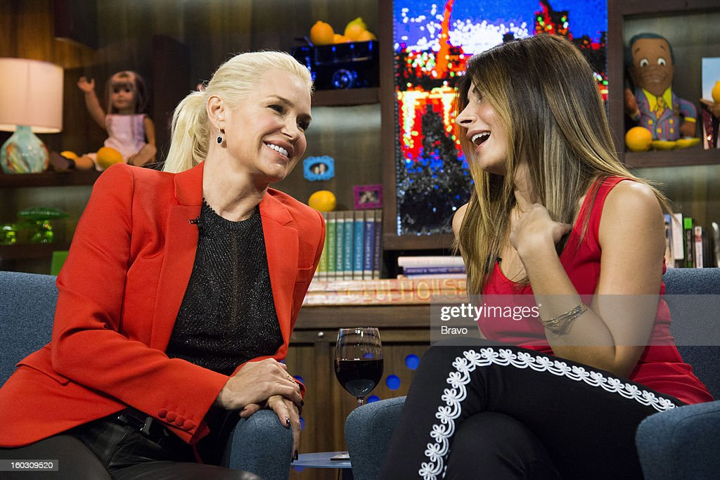 Yolanda Foster and Callie Thorne -- Photo by: Charles Sykes/Bravo/NBCU Photo Bank via Getty Images