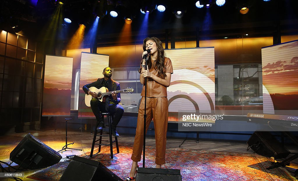 Zendaya appears on NBC News' 'Today' show --
