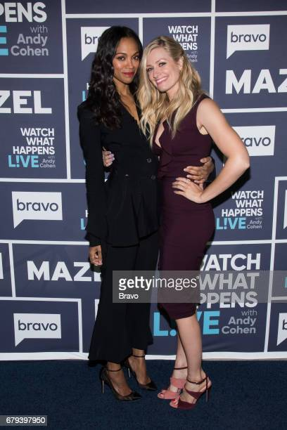 Zoe Saldana and Beth Behrs