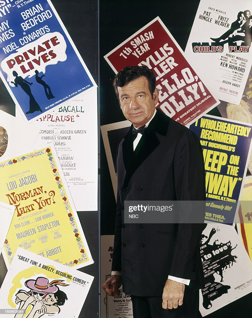 THE 24TH ANNUAL TONY AWARDS -- Pictured:Host Walter Matthau --