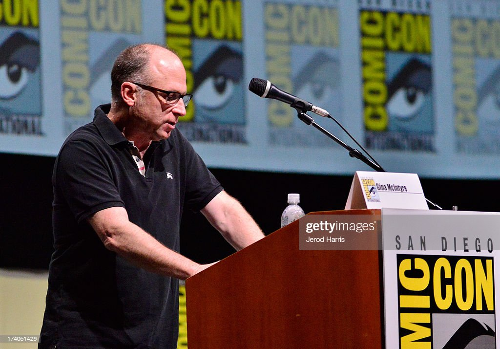 Picturehouse CEO Bob Berney speaks onstage at 'At The Drive-In With Metallica' during Comic-Con International 2013 at San Diego Convention Center on July 19, 2013 in San Diego, California.