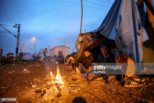 Pictures from Idomeni on 29th of February in 2016 Idomeni is a little village in the GreekFYROM borders About 10000 refugees created a makeshift camp...